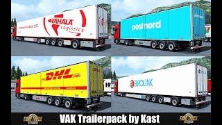 Download ✅ [ETS2 1.31] VAK Trailers by Kast Video