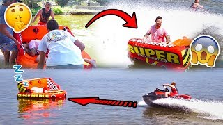 Download SAVAGE RAFT WAKE UP PRANK IN THE MIDDLE OF A LAKE **SORRY CHAD** Video