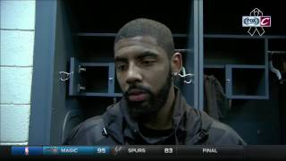 Download Kyrie Irving reacts to Tyronn Lue benching Cavaliers starters Video