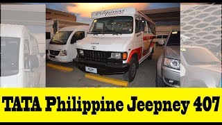 Download TATA Philippine Jeepney 407: A new breed of modern Philippine jeepney Video