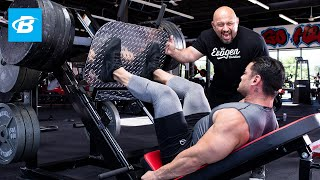 Download FST-7 Quads Workout with 4x Physique Olympia Jeremy Buendia & Hany Rambod | FST-7: Big and Ripped Video