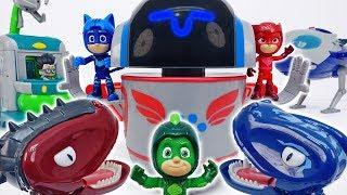 Download PJ Masks HQ Rocket Is Crashed~! PJ Robot Help Us #ToyMartTV Video