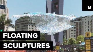 Download Floating sculptures Video