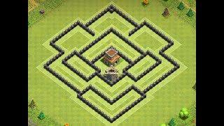 Download Th8 anti 2 star + replays   Th8 defense base   Diseño de aldea   Clash of clans Video