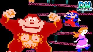 Download La bella y el KONG | ANIMACIÓN | Donkey Kong Video