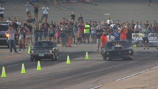 Download WILD RACE!!! Blown Camaro -vs- Rotary Datsun Video