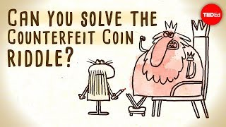 Download Can you solve the counterfeit coin riddle? - Jennifer Lu Video