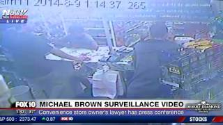 Download JUST RELEASED: Unedited Surveillance Videos of Michael Brown at Ferguson Convenience Store (FNN) Video