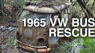 Download 1965 VW Kombi Rescue in Alabama woods Video
