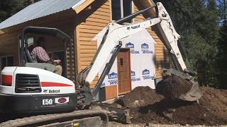 Download Mountain Dream Home — Dirt Work with a Mini Excavator — #38 Video