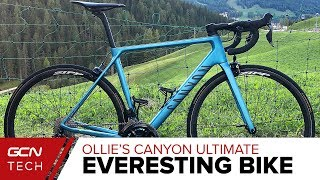 Download Ollie's Everesting Challenge Bike   Canyon Ultimate CF SLX Video