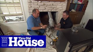 Download How to Install a Wood-Burning Fireplace Insert - This Old House Video
