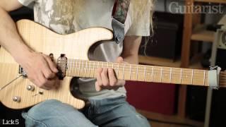 Download Guthrie Govan String Bending Masterclass - Part One Video