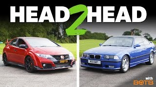 Download Can My 20-Year-Old M3 Keep Up With A New Civic Type R? Video