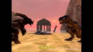 Download PRIMAL-RAGE: Armadon vs Sauron Animation. Video