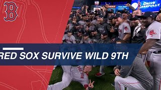 Download Red Sox survive wild 9th to advance to the ALCS Video