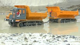 Download HEAY MACHINES🔥RC COCSTRUCTION SITE XXL🔥RC MACHINES IN THE MUD🔥 RC LIVE ACTION Video
