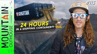 Download MTN OUTHOUSE NEWS - Baldy Marathons Finisher, 24 Hrs In A Shipping Container, Half-Hundred 100's Video