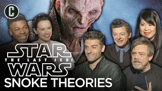 Download Star Wars: The Last Jedi Cast Share Their Favorite Snoke Theories Video