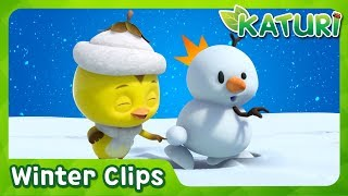 Download [Special Clips] KATURI Winter Story Compilation | snowman Video