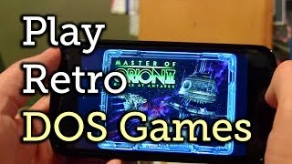Download Play DOS Games on Your Android Device [How-To] Video