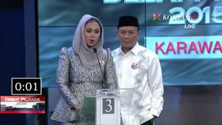 Download Tanya Jawab Antar Peserta - Debat Pilkada Karawang 2015 Segmen 3 Video