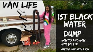Download Vanlife//1st Black Water Dump Experience Video