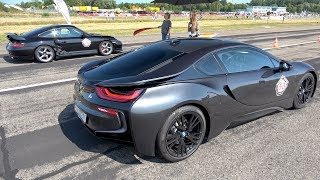 Download BMW i8 PP Performance vs Porsche 996 Turbo vs BMW M3 Video