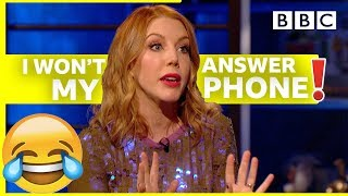 Download Why Katherine Ryan HATES phonecalls | Room 101 - BBC Video