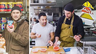 Download Brad and Andy Try to Make the Perfect Pizza Sauce | Making Perfect: Episode 2 | Bon Appétit Video