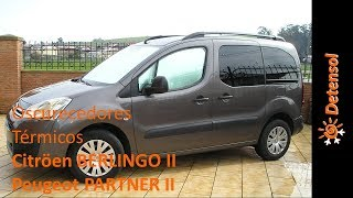 Download Oscurecedores / aislantes térmicos Citröen BERLINGO II - Peugeot PARTNER II Video