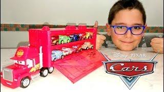 Download DISNEY CARS MINI RACERS - CAMION E SET MACCHININE - Leo Toys Video