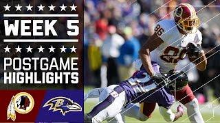 Download Redskins vs. Ravens | NFL Week 5 Game Highlights Video