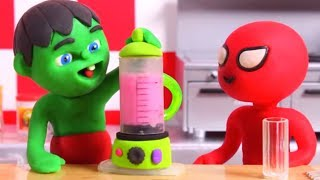 Download KIDS MAKING HEALTHY SMOOTHIES ❤ PLAY DOH CARTOONS FOR KIDS Video