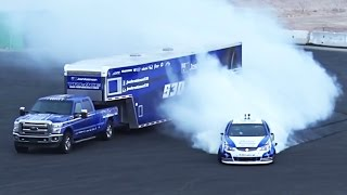 Download SUPERCHARGED Holden Ute DRIFT - Destroying BRAND NEW Tires!? Video