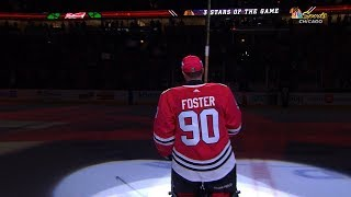 Download Emergency goalie steals the show in Chicago Video