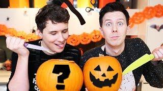 Download Dan and Phil try PUMPKIN CARVING! Video
