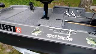 Download Modifying my 8ft Sun Dolphin Sportsman boat Video