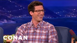 Download Andy Samberg Invited Adam Sandler To His Wedding Video