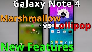 Download Samsung Galaxy Note 4 Marshmallow vs Lollipop Video