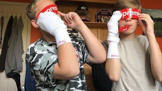 Download Evan got his Supreme Socks! Video