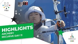 Download Highlights Day 11 I Archery recurve #Napoli2019 Video