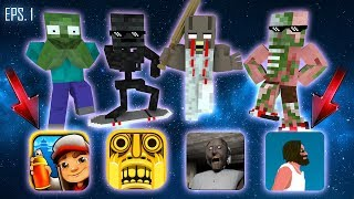 Download Monster School : ALL EPISODE 1 - Minecraft Animation Video