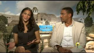 Download Jumping The Broom - Laz Alonso and Paula Patton talk career, love and education Video