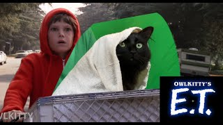Download E.T. + My cat OwlKItty (Behind the Scenes) Video