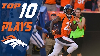 Download Broncos Top 10 Plays of the 2016 Season | NFL Highlights Video