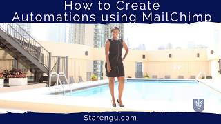 Download How to Create an Automated Email Series using MailChimp Automation Workflow Video