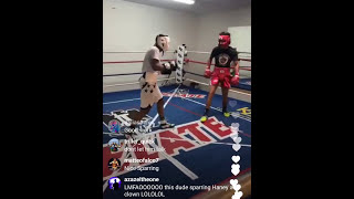 Download Devin Haney spars cocky, trash talking, slick southpaw Video