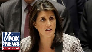 Download Nikki Haley attends final UN Security Council meeting Video