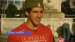 Download Brazilac igra kolo u sred Terazija - B92 Video